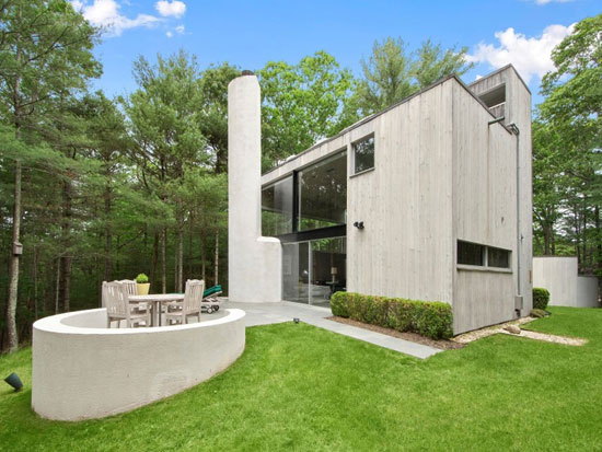 1960s Charles Gwathmey-designed Sedacca House in East Hampton,  New York, USA