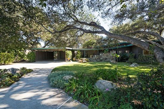 On the market: 1950s Johnny Stroh-designed midcentury modern property in Santa Paula, California, USA