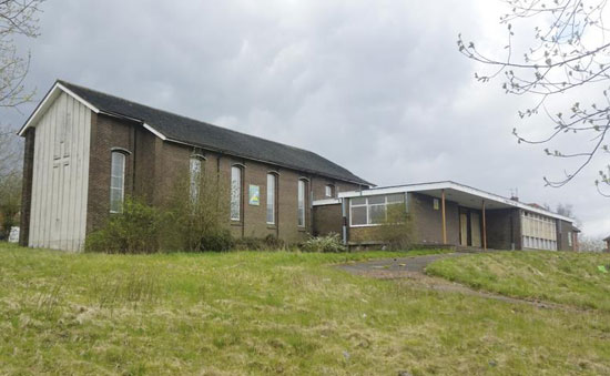 On the market: 1960s-built church building in Stoke-In-Trent, Staffordshire