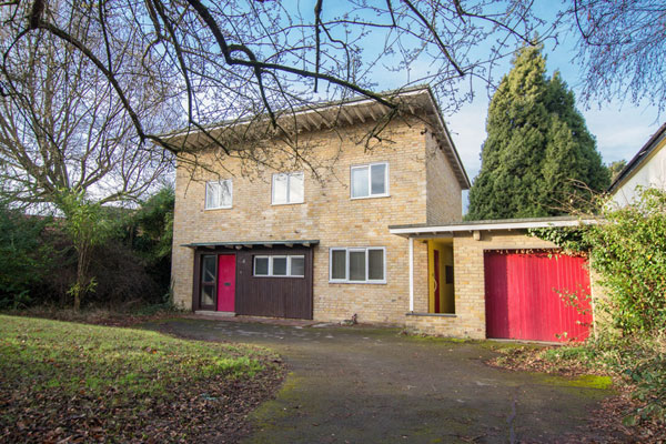 On the market: 1960s modernist property in Great Shelford, Cambridge, Cambridgeshire