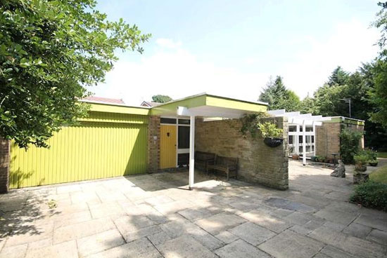 1960s midcentury-style single-storey property in Heaton Mersey, Stockport, Cheshire