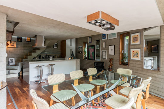 de Rijke Marsh Morgan-designed split-level modernist apartment in London SE1