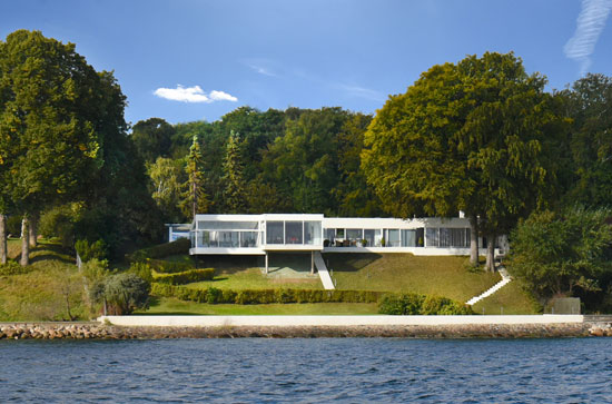 1950s modernist property in Vedbaek, Denmark
