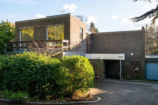 On the market: 1960s Roy Lancaster-designed modernist property in Chislehurst, Kent