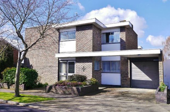 1970s Norman Brooks-designed modernist property in Canvey Island, Essex