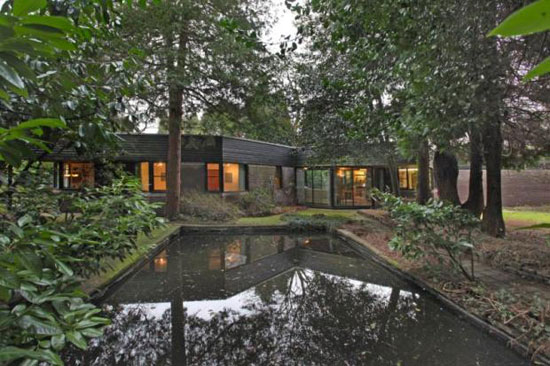 1970s Granville Gough-designed four-bedroom modernist property in Lymm, Cheshire