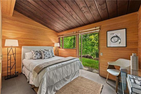 1950s David Henken midcentury modern house in Pleasantville, New York, USA