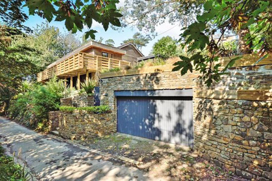 On the market: Four-bedroom contemporary modernist property in St Mawgan, Cornwall
