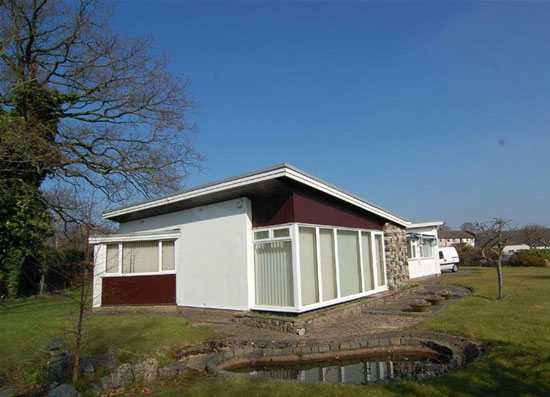 1950s midcentury property in Congleton, Cheshire
