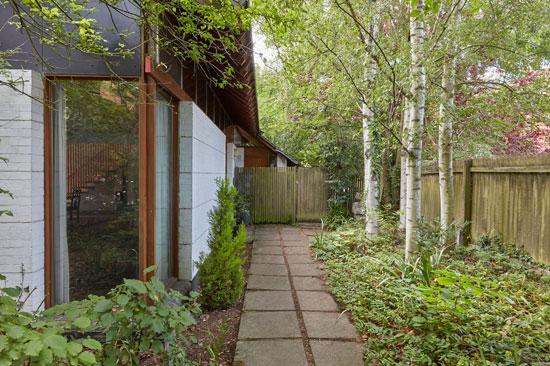 1980s David Thurlow modern house in Cambridge