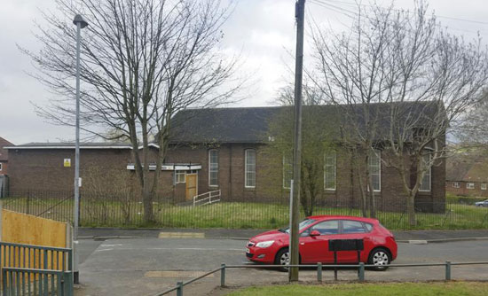 1960s-built church building in Stoke-In-Trent, Staffordshire