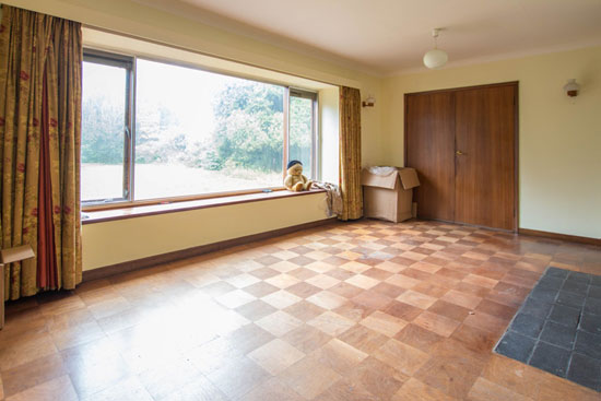 1960s modernist property in Great Shelford, Cambridge, Cambridgeshire