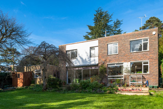 1960s Roy Lancaster-designed modernist property in Chislehurst, Kent