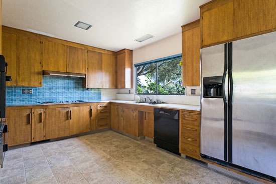 1950s Johnny Stroh-designed midcentury modern property in Santa Paula, California, USA