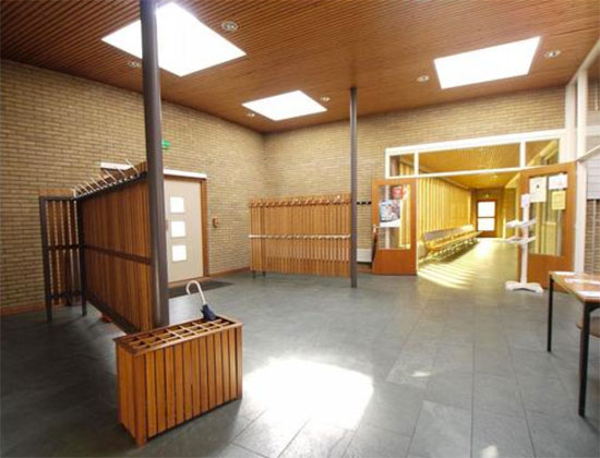 1960s Dick Egberts-designed church in Harderwijk, Gelderland, Holland