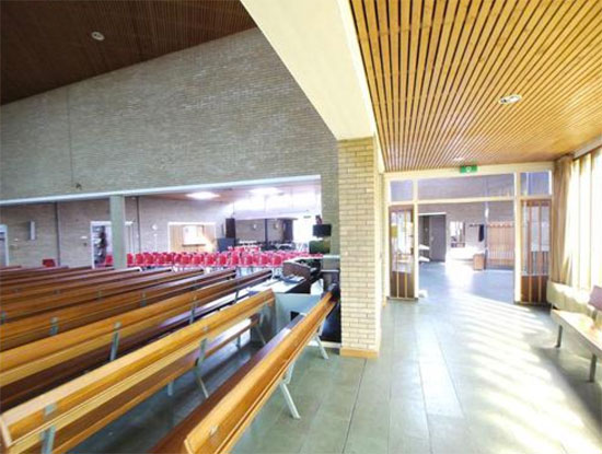 1960s Dick Egberts-designed church in Harderwijk, Gelderland, Holland