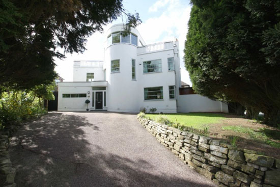 1930s four-bedroom art deco house in Handforth, Cheshire