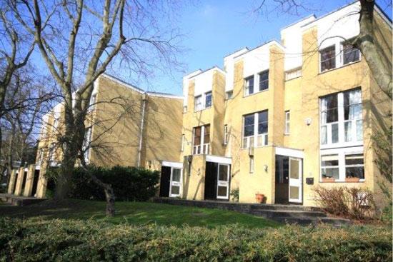 1960s three-storey Eric Lyons-designed Span house on the Cator Estate, Blackheath, London SE3