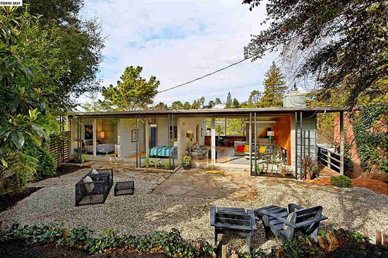 On the market: 1940s two-bedroom midcentury modern property in Berkeley, California, USA