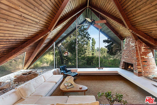 1960s Stebel House by Harry Gesner in Los Angeles, California, USA
