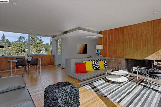 1940s two-bedroom midcentury modern property in Berkeley, California, USA