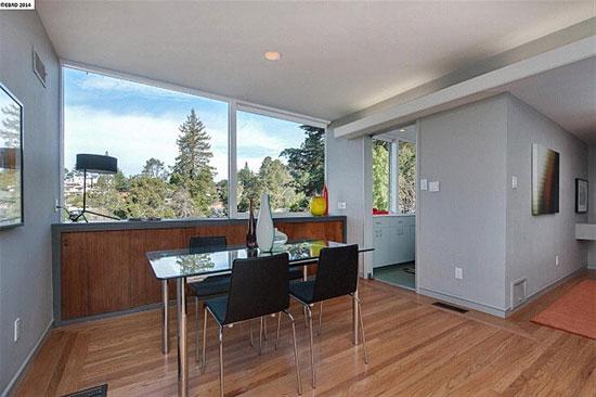 1940s two-bedroom midcentury modern property in Berkeley, California, USA