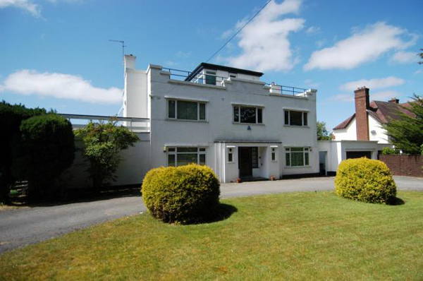 1930 art deco property in Caldy, Wirral, Merseyside
