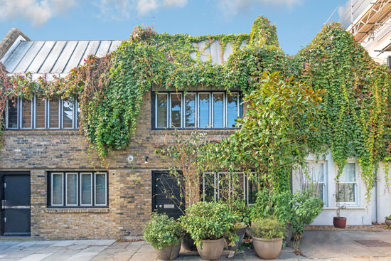On the market: 1960s Renton Welch-designed modernist mews house in London NW1