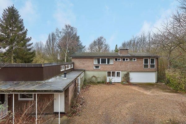1960s David Ellis modern house in Cambridge, Cambridgeshire
