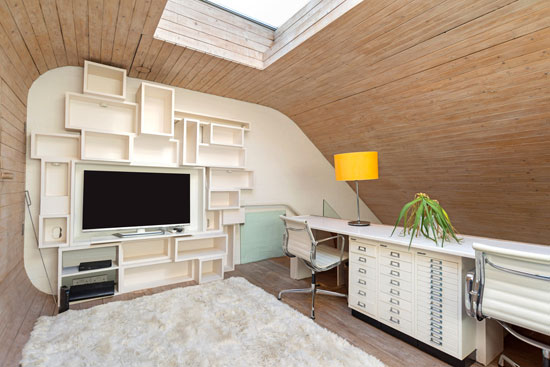 1960s Renton Welch-designed modernist mews house in London NW1