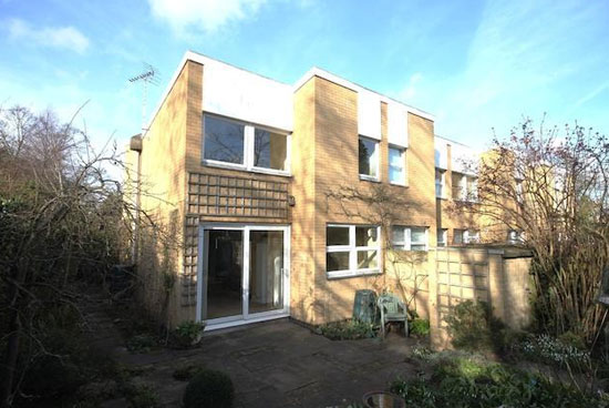 1960s three-bedroom townhouse in the Highsett development in Cambridge, Cambridgeshire