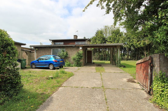 Time capsule for sale: 1960s modernist property in Dry Drayton, Cambridgeshire