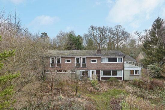 1960s David Ellis modern house in Cambridge, Cambridgeshire