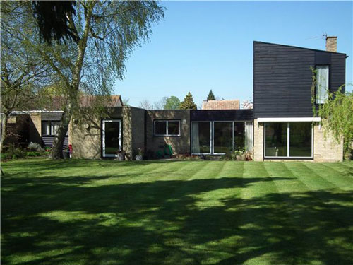 1960s modernism: The Terrace four-bedroomed detached house in Little Shelford, Cambridge