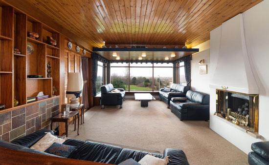 1970s modern house in Prestatyn, Denbighshire, North Wales