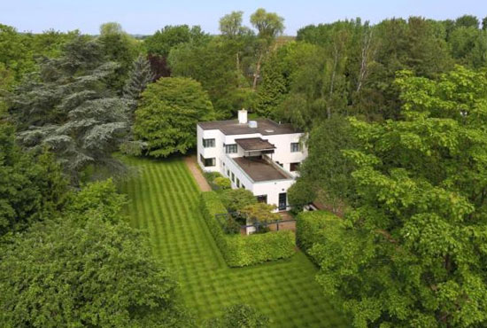 On the market: 1930s H C Hughes-designed modernist property in Cambridge, Cambridgeshire