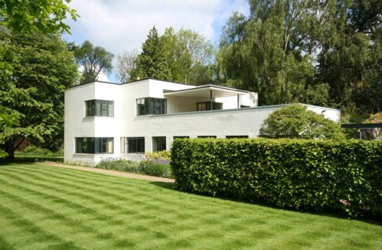 On the market: 1930s H C Hughes-designed modernist property in Cambridge, Cambridgeshire