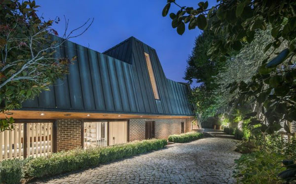 1980s modernism: Edward Greenway-designed modernist property in Hampstead, London NW3