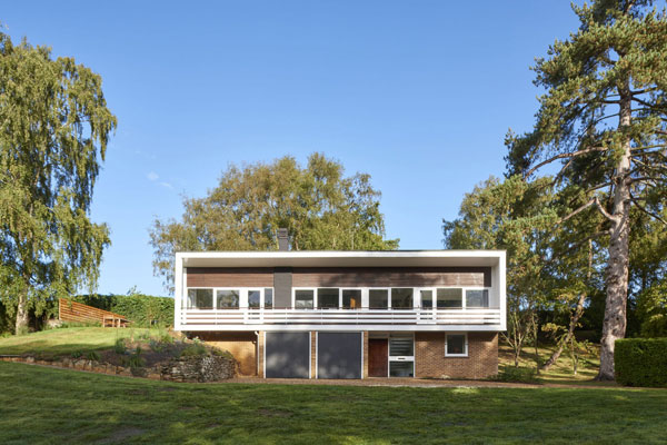 1960s Candleriggs midcentury modern house in Lower Ufford, Suffolk