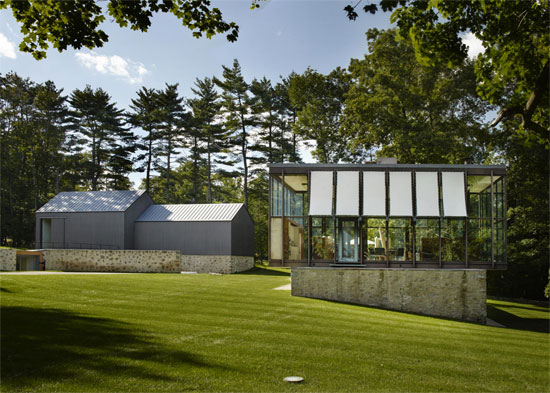 On the market: 1950s Philip Johnson-designed Wiley House in New Canaan, Connecticut, USA