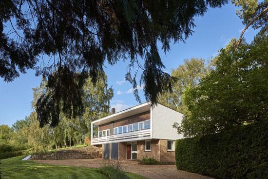 1960s Candleriggs midcentury modern house in Lower Ufford, Suffolk