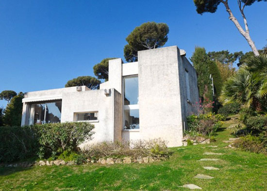 1960s three-bedroom modernist holiday villa in Cap D'Antibes, French Riviera, France