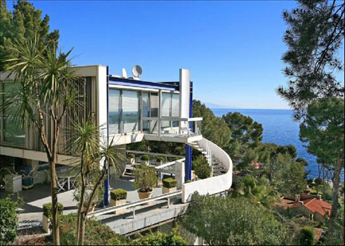1960s Claude Parent-designed Villa Ex in Cap D'Antibes, South Of France