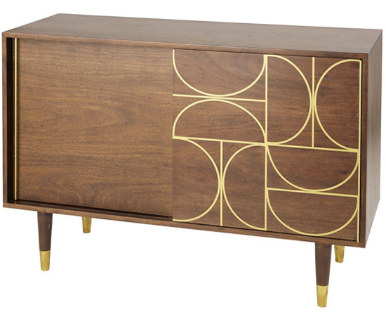 Cappuccino midcentury furniture range lands at Maisons Du Monde