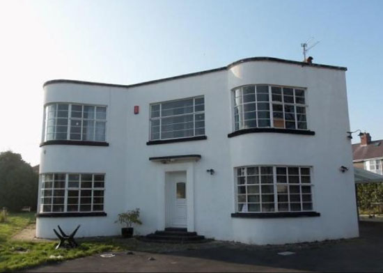 On the market: Four-bedroom grade II-listed art deco property in Carmarthen, Carmarthenshire