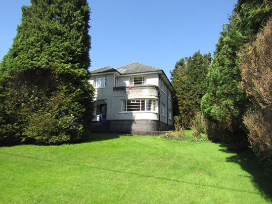 1930s art deco property in Llanelli, Carmarthenshire