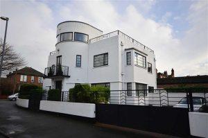 Yorkshire art deco: 1930s Blenkinsopp and Scratchard-designed property in Castleford, Yorkshire