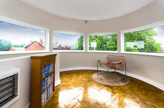Back on the market: 1930s Blenkinsopp and Scratchard-designed art deco property in Castleford, Yorkshire