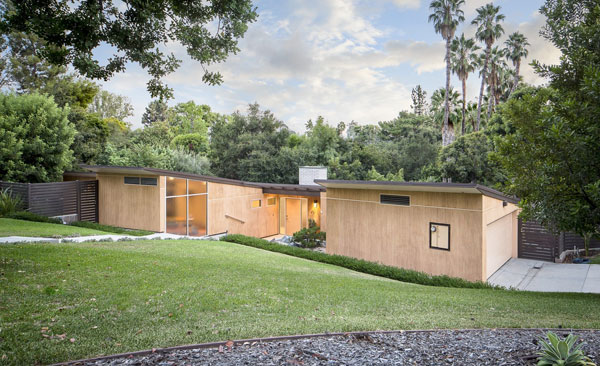 Case Study House #10: Kemper Nomland and Kemper Nomland Jr-designed property in Pasadena, California, USA
