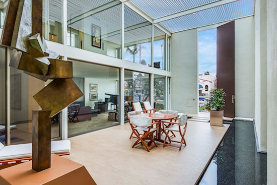 The Frank House (Case Study House #25) in Long Beach, California, USA